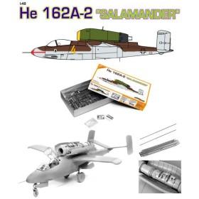 サイバーホビー CH5564 1/48 WW.II ドイツ空軍 ハインケル He162A-2 サラマンダー プラモデル(Y0896)