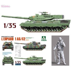 送料無料◆タコム 1/35 レオパルト 1A5/C2 2in1 プラモデル TKO2004(E0802)