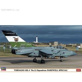 ハセガワ 1/72 トーネードGR.4 第12飛行隊フェアウェルスペシャル プラモデル 02116(E4810)
