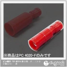 ニチフ 差込形ピン端子パックPC形(100個入) 赤 160 x 102 x 25 mm PC 4009-F-RED