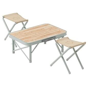 ポイント10倍 アウトドアテーブル ピクニックテーブル LOGOS ロゴス LOGOS Life スツールローテーブルセット2 73183012 4981325526863 [astk]