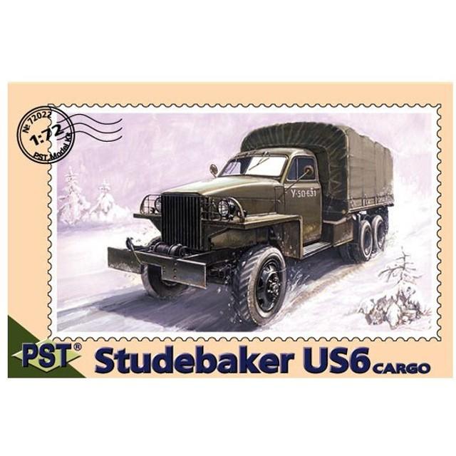 PST 1/72 露・スチュードベイカー US6 カーゴトラック プラモデル PS72022(C9074)