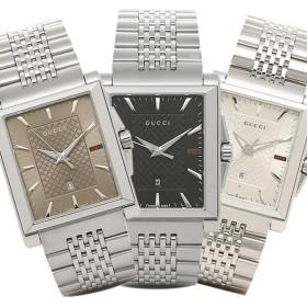 【送料無料】グッチ 時計 GUCCI Gタイムレス G-TIMELESS レクタングル メンズ腕時計 ウォッチ 選べるカラー 父の日 ボーナス