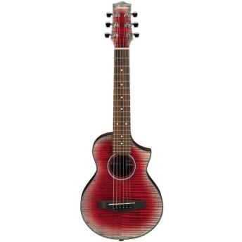 Ibanez EWP32FMWB-GRD/Glacier Red Low Gloss(ソフトケース付) ミニ(ピッコロ)・サイズのピュアアコースティックギター ギタレレ?