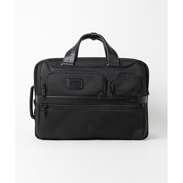 TUMI ブリーフバッグ Exp Organizer Computer Brief ブラック/FREE(エストネーション)◆メンズ ビジネスバッグ