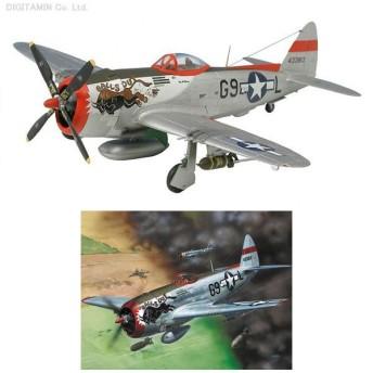 ドイツレベル 1/72 P-47D-30 サンダーボルト プラモデル 04155 (E2344)