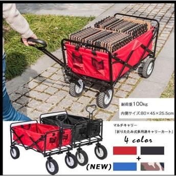 キャリーワゴン キャリーカート 子供 折りたたみ 台車 バーベキュー キャンプ 持ち運び carry wagon