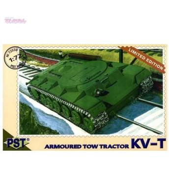 PST 1/72 露・KV-T牽引重トラクター プラモデル PS72038(E2417)