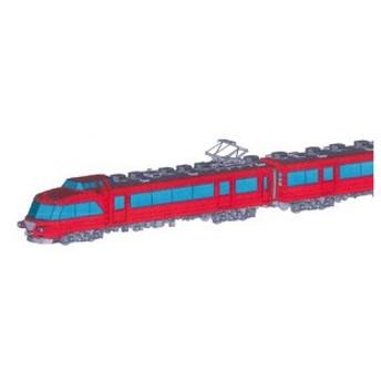 ネコ・パブリッシング (HO) 名鉄7000系パノラマカー 中間車2両セット 未塗装組立キット(ディスプレイモデル・プラキット) 返品種別B