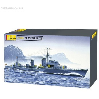 送料無料◆エレール 1/400 ドイツ海軍駆逐艦 Z-31 プラモデル HEL81010(ZS02861)