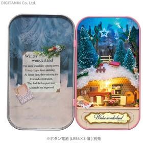送料無料◆ミニチュアット 冬のきらめき やのまん 516-12(ZG52863)