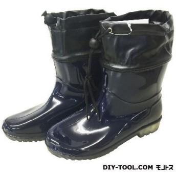 シンセイ 婦人PVCお手軽ブーツ ネイビー M(23.0~23.5cm) NAVY SS-0188