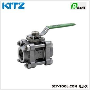 KITZ ステンレス製ボールバルブ U3TZM1/2B[15A]