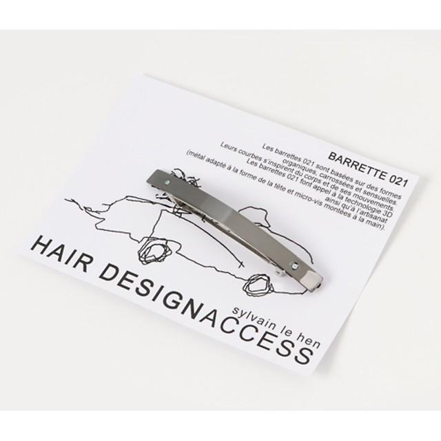 HAIR DESIGNACCESS sylvain le hen バレッタ ブロンズ/FREE(エストネーション)◆レディース バレッタ/ヘアクリップ