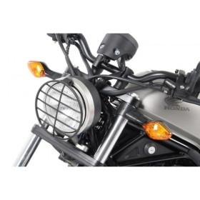 【ヘプコアンドベッカー(HEPCO&BECKER)】 ヘッドライトグリル ブラック Rebel500 17 適応:レブル500 17 【700998-0001】 【ガード類/関連パーツ】