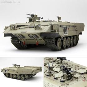 モンモデル 1/35 イスラエルアチザリット 重装甲輸送車 プラモデル SS-003(D6221)