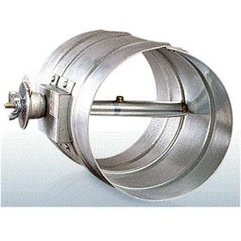 西邦工業【VD150S】風量調整用ダンパーステンレス製・フューズ無し・ダクト接続型
