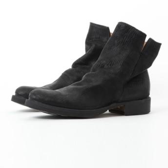 FIORENTINI+BAKER レザーサイドジップブーツ ELF SQUAME ブラック/39(エストネーション)◆メンズ ブーツ