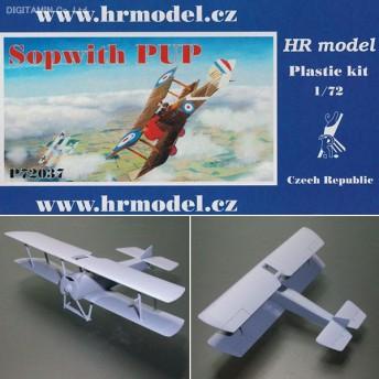 HR Models 1/72 ソッピース パップ 「イギリス海軍航空隊のエース達」 プラモデル HRP7237(F0483)
