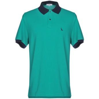 《期間限定セール開催中!》DIMATTIA メンズ ポロシャツ グリーン XXL コットン 100%