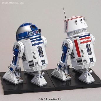 1/12 スター・ウォーズ R2-D2&R5-D4 プラモデル バンダイ(F1113)