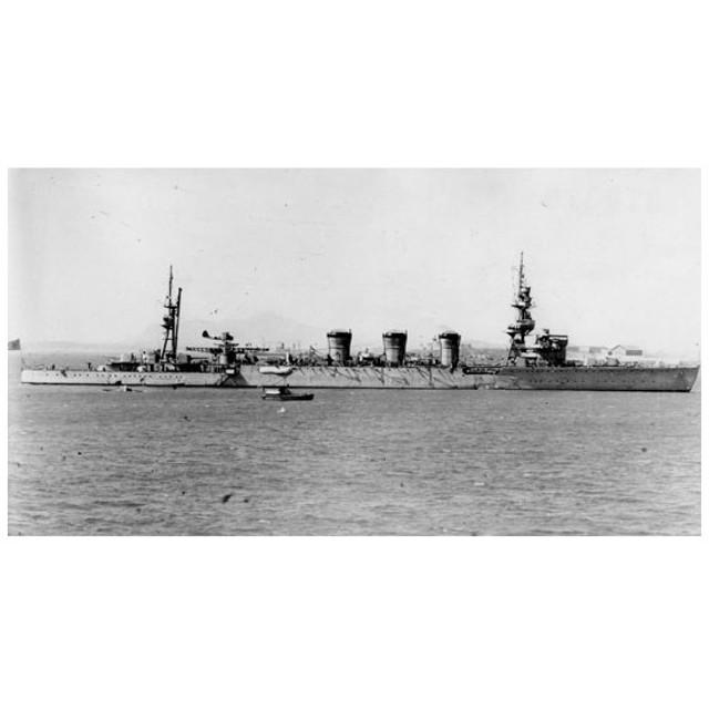 アオシマ 1/350 アイアンクラッド 軽巡洋艦 球磨 プラモデル(X0874)