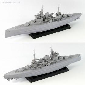ピットロード 1/700 英海軍 戦艦 クィーン・エリザベス 1941 プラモデル W181(ZS04832)