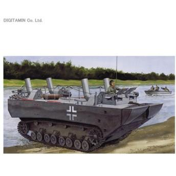 送料無料◆1/35 ドイツ軍 パンツァーフェリー 装甲水陸両用牽引車(LWS) プロトタイプNo.1 プラモデル ドラゴン DR6625(F8243)