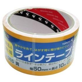 寺岡製作所 標示用 ラインテープ No.365 黄 幅50mmX長さ10m