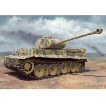 1/35 WW.II ドイツ軍 ティーガーI H2型 プラモデル