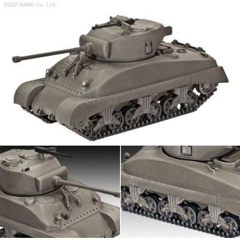 ドイツレベル 1/72 M4A1 シャーマン プラモデル 03196(D1594)