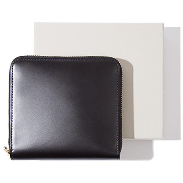 b0de17721c40 ESTNATION / ラウンドファスナー二つ折り財布 ブラック/FREE(エストネーション)◇メンズ 財布