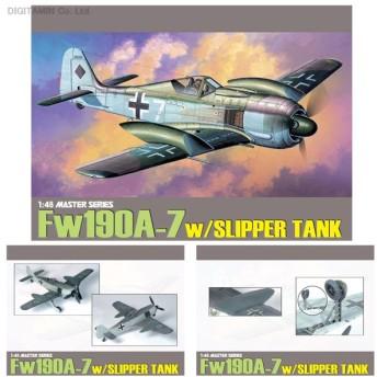 送料無料◆1/48 WW.II ドイツ空軍 Fw190A-7 スリッパタンク装備 プラモデル ドラゴン DR5545(ZS12694)