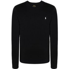 《期間限定セール開催中!》POLO RALPH LAUREN メンズ アンダーTシャツ ブラック S コットン 100%
