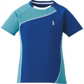 GOSEN(ゴーセン) 【レディース テニス・バドミントンウェア】 ゲームシャツ ミッドナイトブルー
