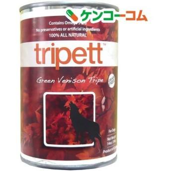 ペットカインド トライペット 缶詰 グリーンベニソントライプ(鹿) ( 396g )