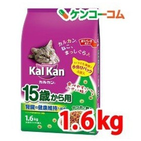 カルカン ドライ かつおと野菜味 15歳から用 ( 1.6kg )/ カルカン(kal kan)