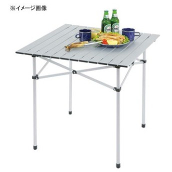 アウトドアテーブル キャプテンスタッグ トラッド アルミロールテーブル「S」