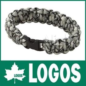 【連休中休まず出荷】 LOGOS ロゴス ブレードロープ/ブレスレット270 (グレー)  72685207 キャンプ用品