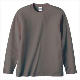 UnitedAthle(ユナイテッドアスレ) 5.6オンスロングスリーブTシャツ(アダルト) チャコール