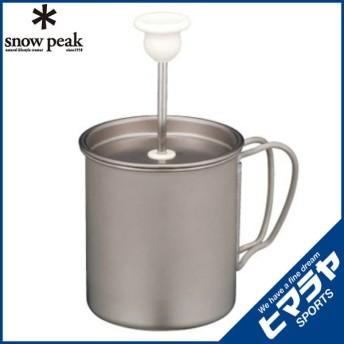 スノーピーク snow peak 小型食器 チタンミルクフォーマー CS-112 od