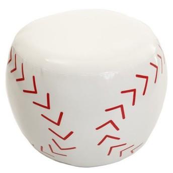 ノーブランド(NO BRAND) 【多少の汚れ等訳あり大奉仕】ボール型椅子 野球 784G6MRCM2979 (Men's、Lady's、Jr)