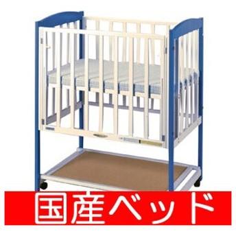 【レンタル15日まで】スクウェアコンパクト マット付 小物置き板付 スクエア(90×60) レンタルベビーベッド ベビー用品