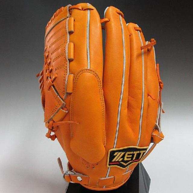 2014年モデル ZETT プロステイタス 一般軟式 投手用 BRGB30411 5600:オレンジ 左投げ(RH)