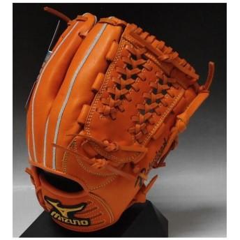 限定色 井端モデル ミズノ プロフェッショナル 一般軟式内野手用 2GN35623 クリアオレンジ(51) 右投げ