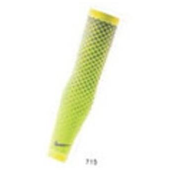 ナイキ NIKE DRI-FIT 360アームスリーブ [カラー:ボルト×シルバー] [サイズ:L/XL] #RN5018-715
