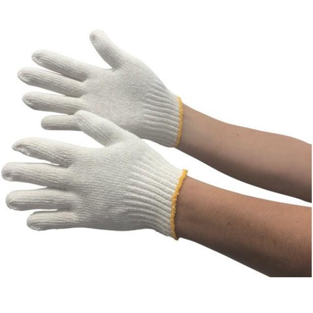 トラスコ 綿混軍手 Sサイズ 10双入 (1組) 品番:TGS450