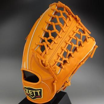 2016年モデル ZETT プロステイタス 一般硬式 外野手用 BPROG27 5600:オレンジ 右投げ(LH)