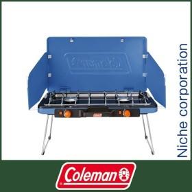 Coleman コールマン パワーハウス LPツーバーナーストーブII(ヴィンテージブルー)  2000031232 キャンプ用品