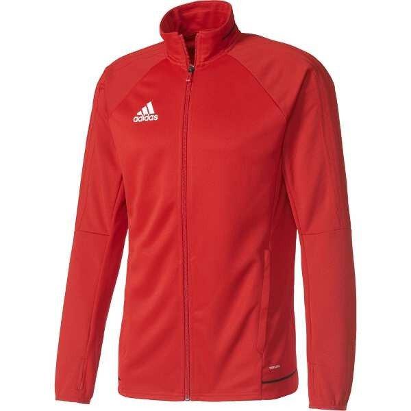 Adidas Men Tiro 17 Training Suit Set Jacket Red Black Athletics GYM Pants BQ2710